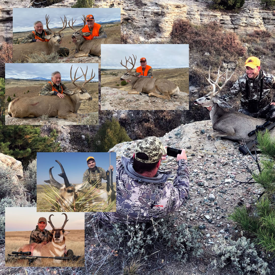 Hunt 5: Mule deer & antelope combo hunt with SNS Outfitter & Guides